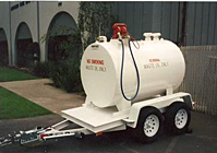 Liquid Storage Truck and Trailer Steel Tanks